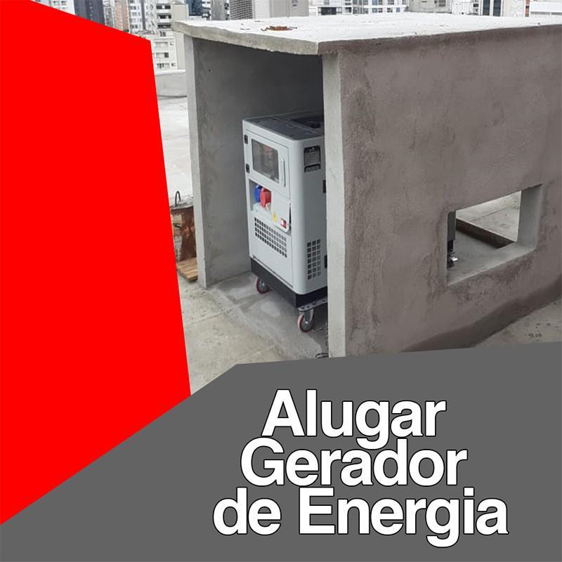 Alugar gerador de energia