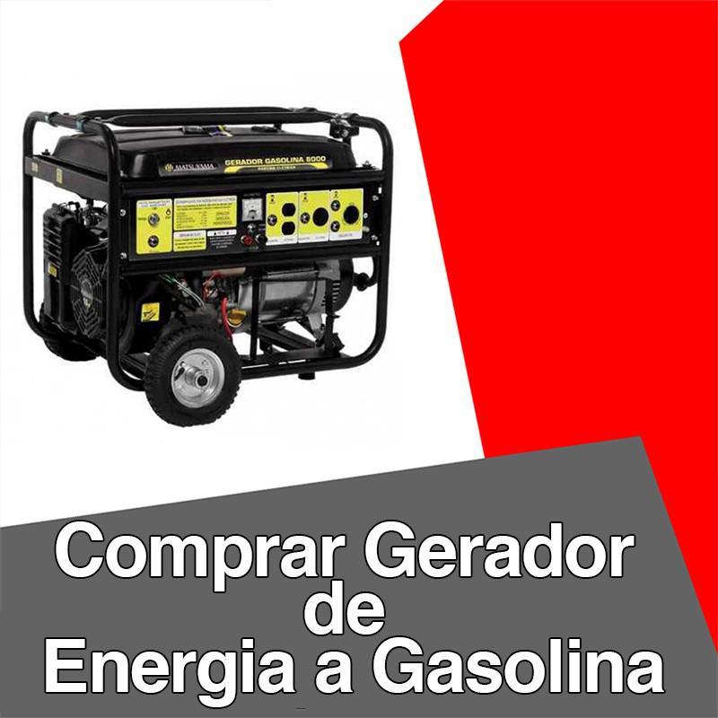 Comprar gerador de energia a gasolina