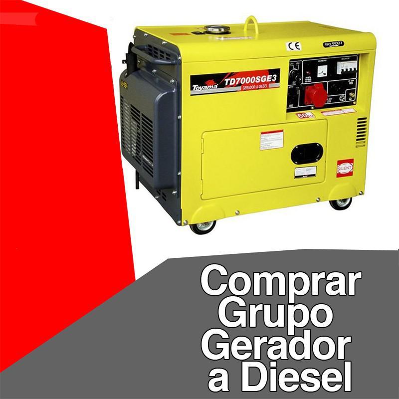 Comprar grupo gerador a diesel