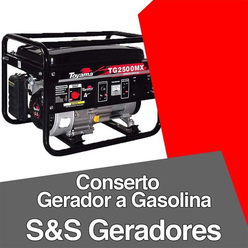 Conserto de geradores a gasolina