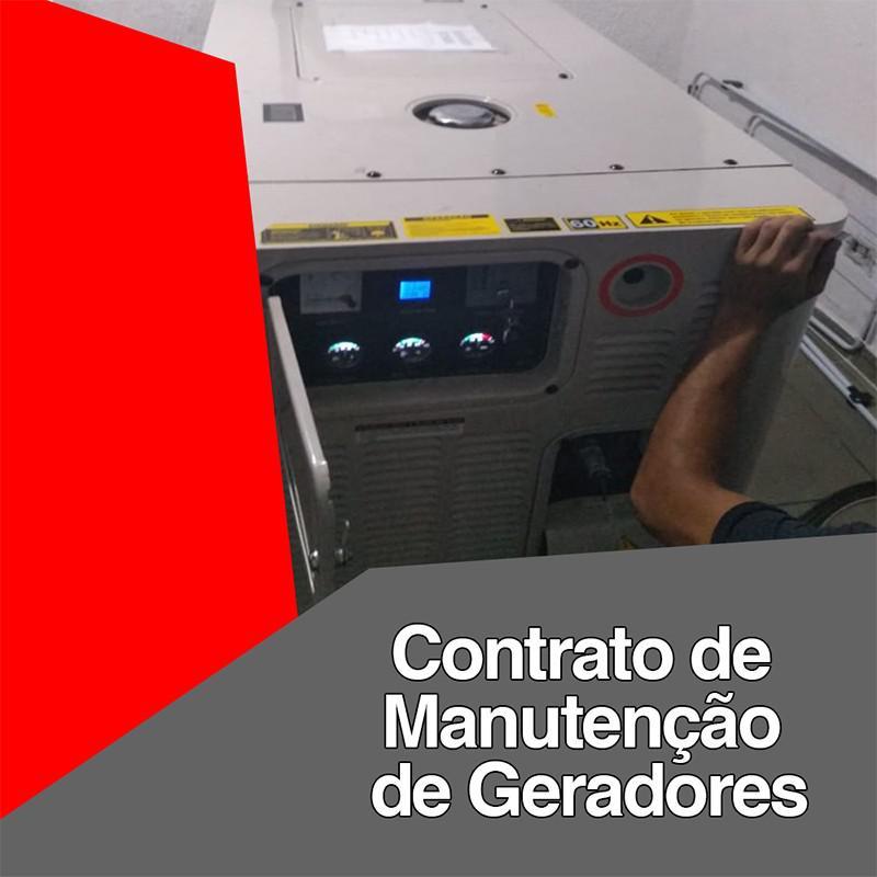 Contrato de manutenção de geradores