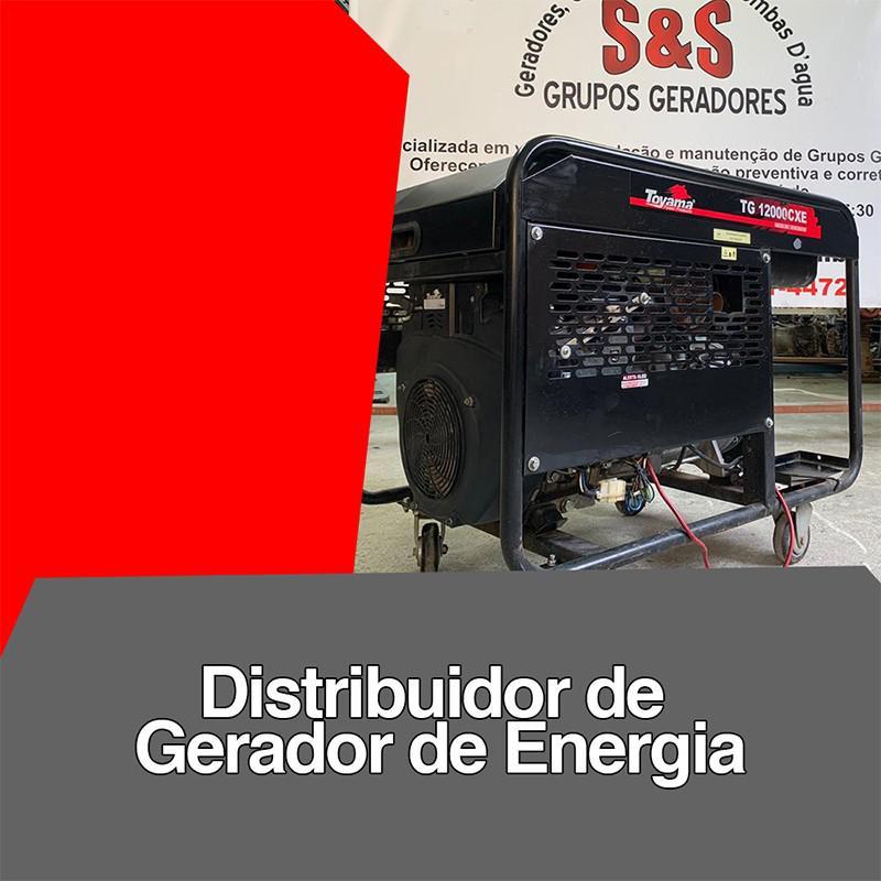 Distribuidor de gerador de energia