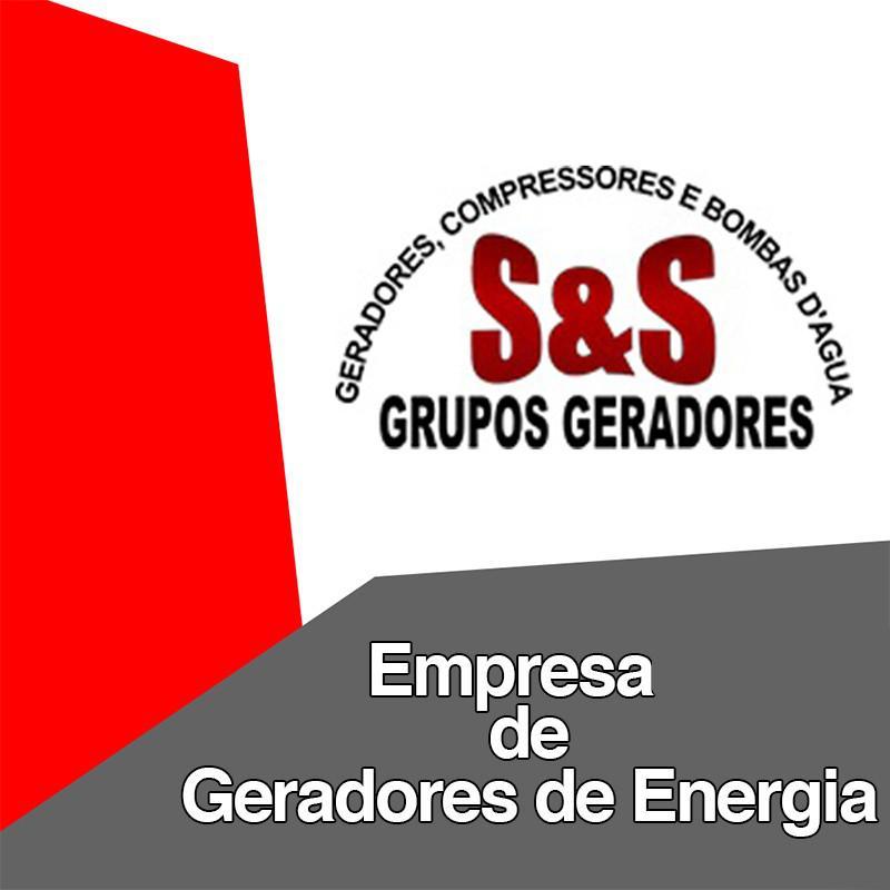 Empresas de geradores de energia