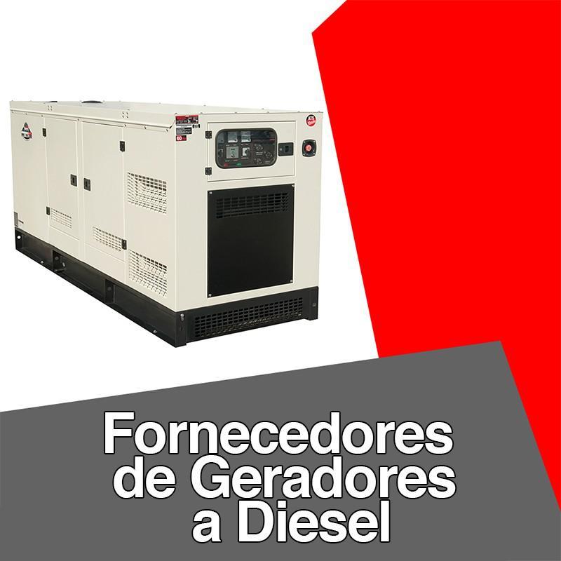 Fornecedores de geradores a diesel