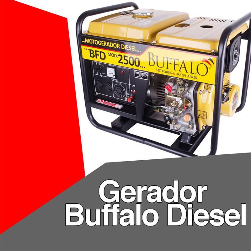 Gerador buffalo diesel