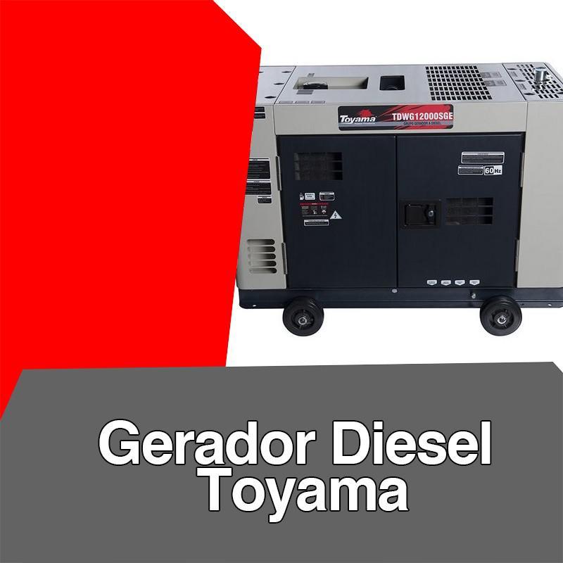 Gerador diesel toyama