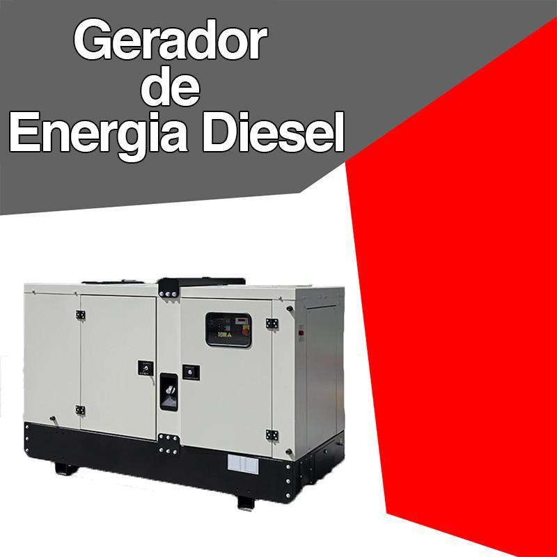 Gerador de energia diesel