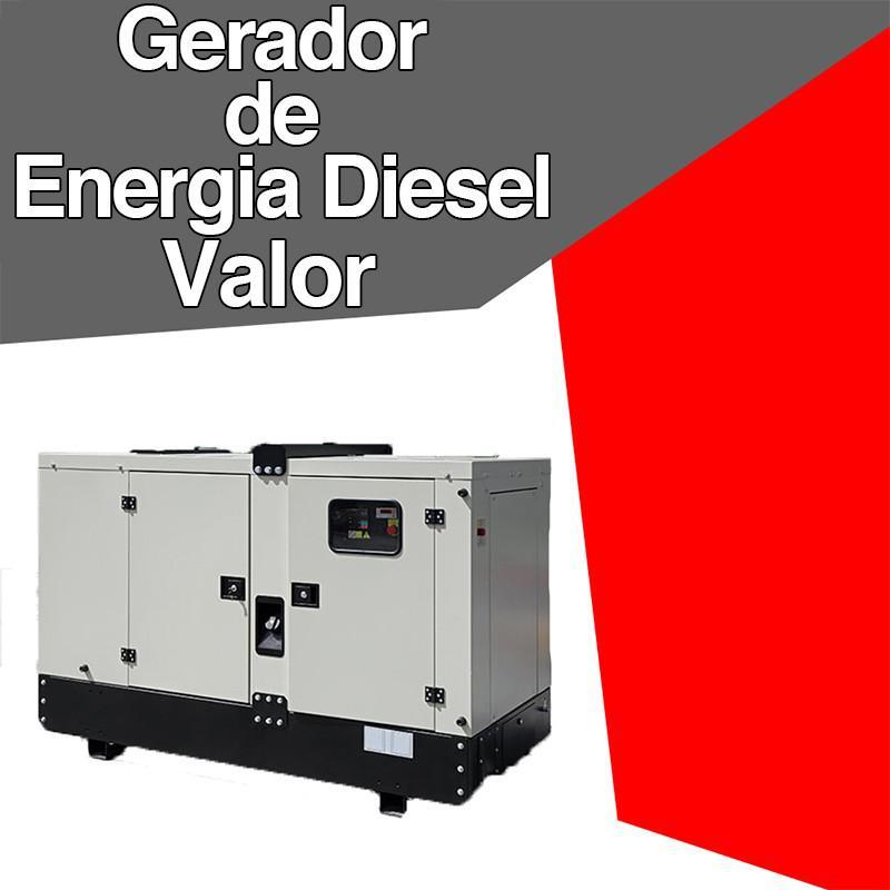 Gerador de energia a diesel valor