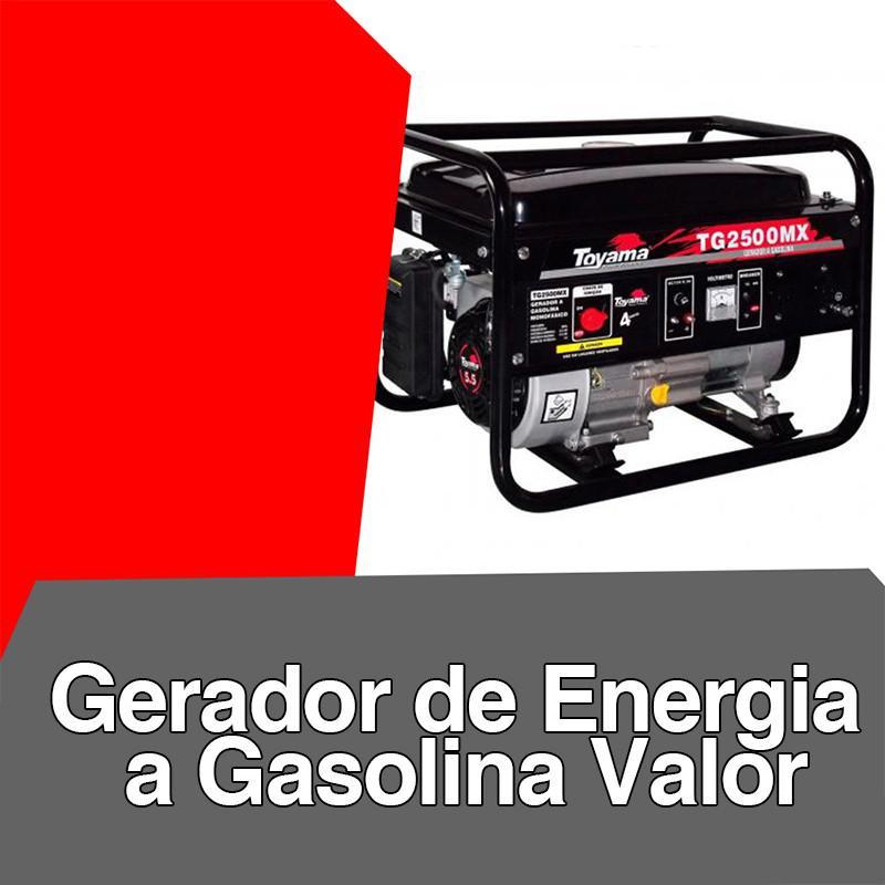 Gerador de energia a gasolina valor