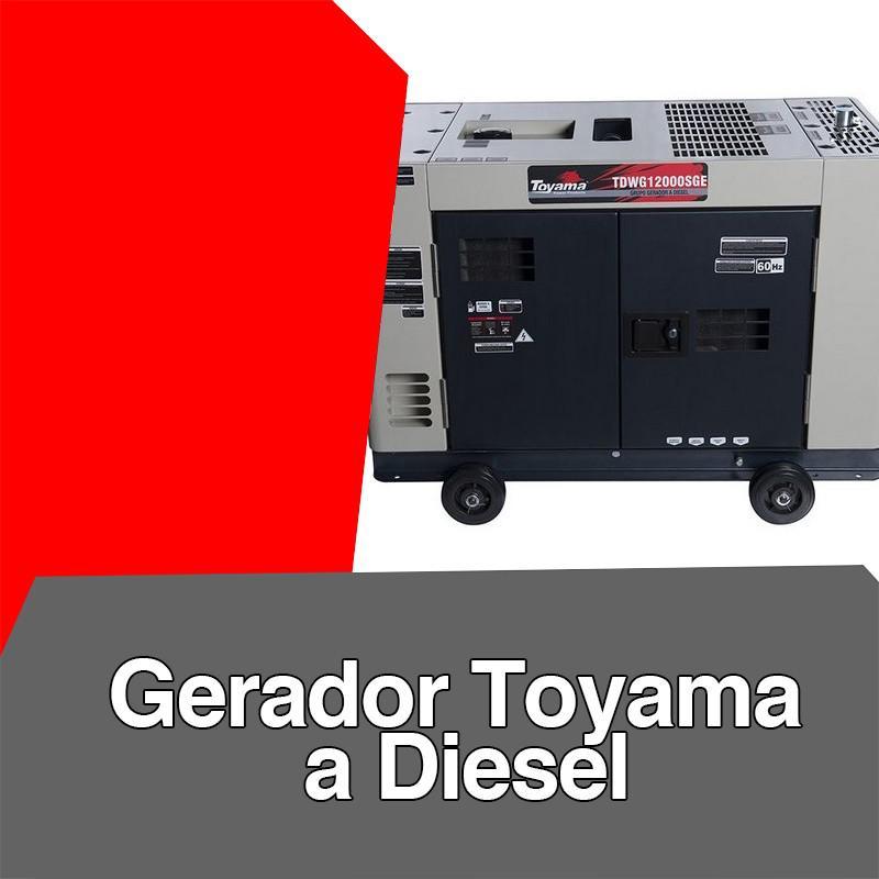 Gerador toyama a diesel