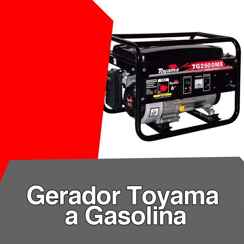 Gerador toyama a gasolina