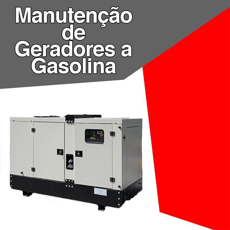 Manutenção de geradores a gasolina