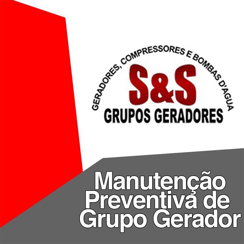 Manutenção preventiva de grupo gerador