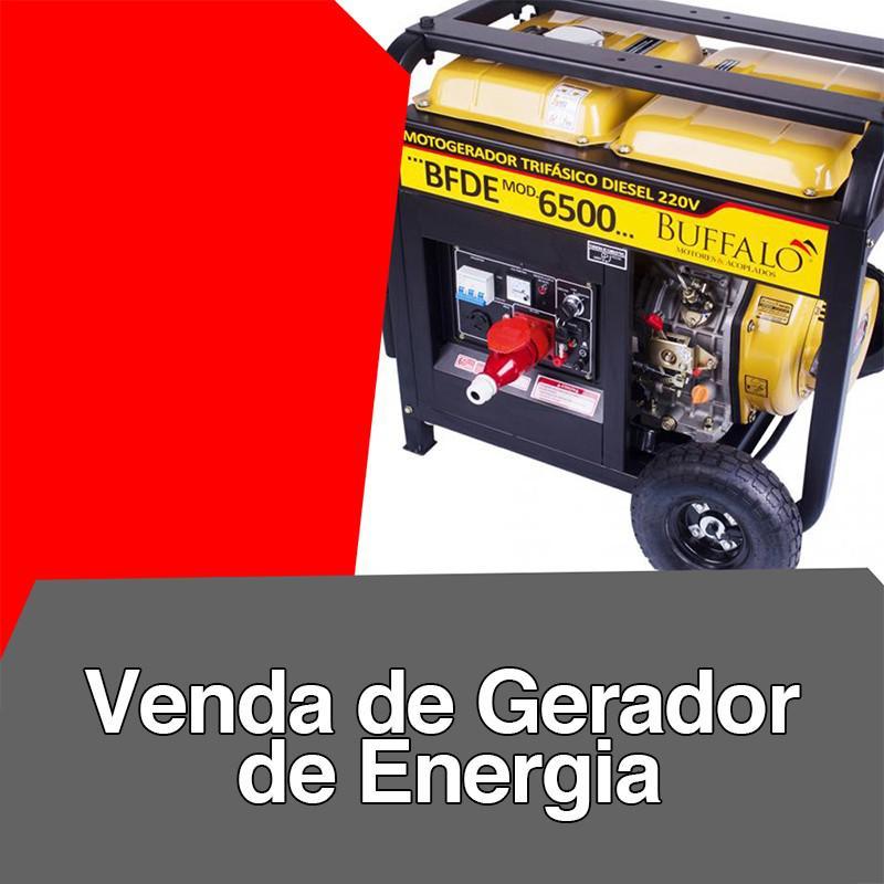 Venda de gerador de energia