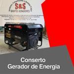 Conserto gerador de energia