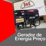 Gerador de energia preço