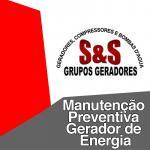 Manutenção preventiva gerador de energia